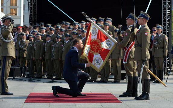 06.08 | Uroczystość przyjęcia przez prezydenta Andrzeja Dudę zwierzchnictwa nad siłami zbrojnymi RP