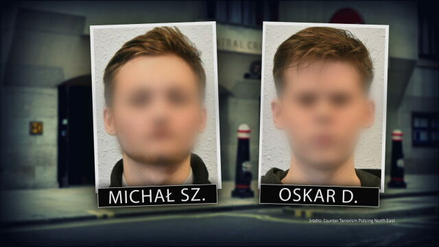 Michał Sz. was jailed for four years and three months while Oskar D.-K. was sentenced to 18 months in prison