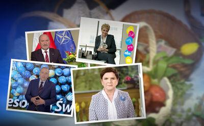 15.04.2017 | Z jajem, z króliczkiem, w plenerze. Tak politycy składają życzenia wielkanocne