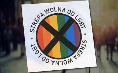 """Gazeta promuje naklejki z napisem """"Strefa wolna od LGBT"""". Ambasador USA """"rozczarowana i zaniepokojona"""""""