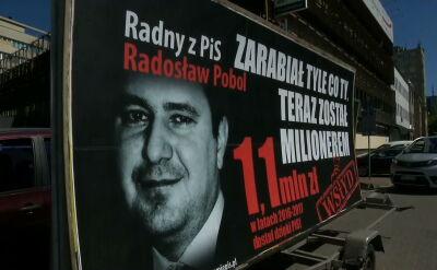 """""""Konwój wstydu"""" z radnymi PiS wyruszył w Polskę"""