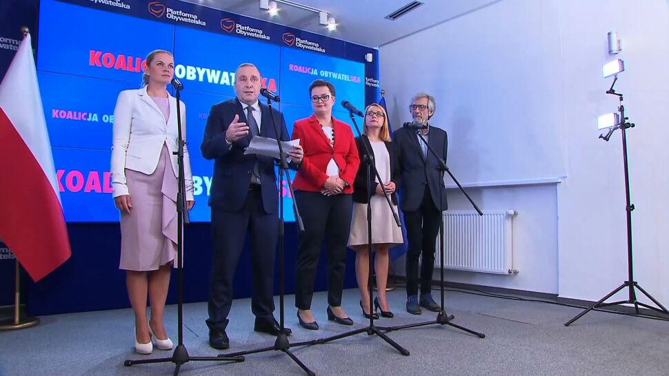 """Kontrowersyjne """"jedynki"""" Platformy. Hanna Zdanowska zrezygnowała"""