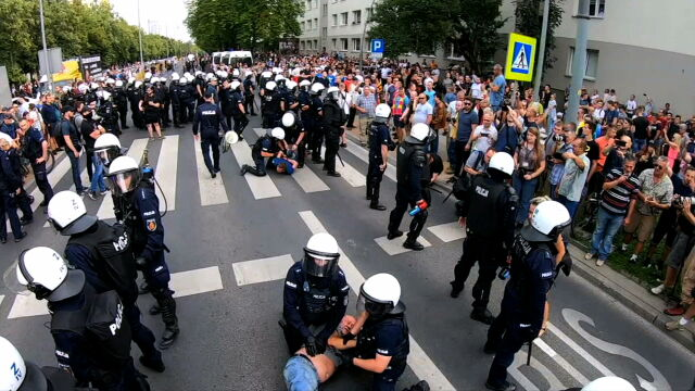 Dwadzieścia postępowań po Marszu Równości w Białymstoku