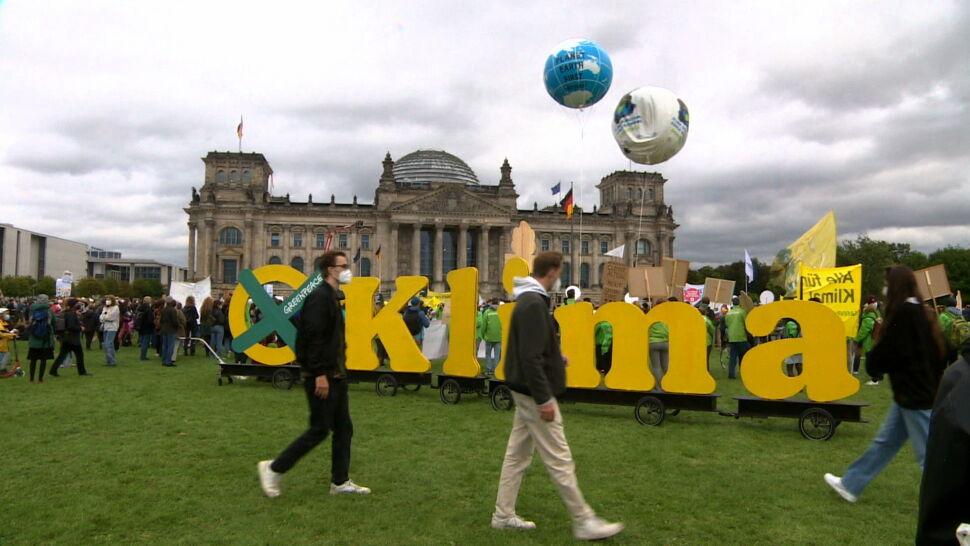 Zmiany klimatyczne to dla wielu Niemców temat numer jeden. Stąd siła Zielonych