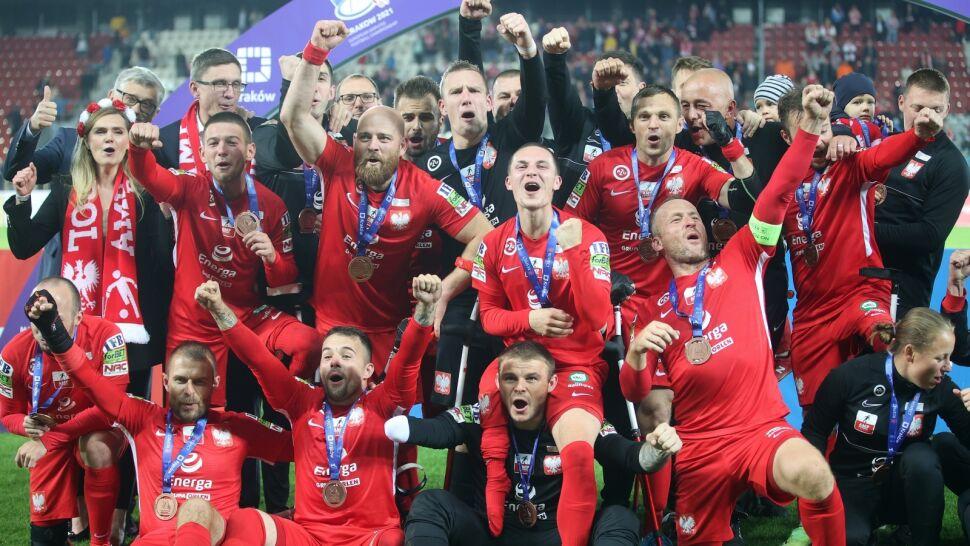 Sukces Polaków w amp futbolu na mistrzostwach Europy. Biało-Czerwoni zdobyli brąz