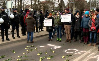 Obywatele RP ukarani za blokowanie marszu w Hajnówce