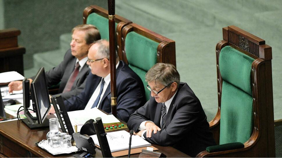 Opozycja chce odwołać marszałka Kuchcińskiego. Nie po raz pierwszy
