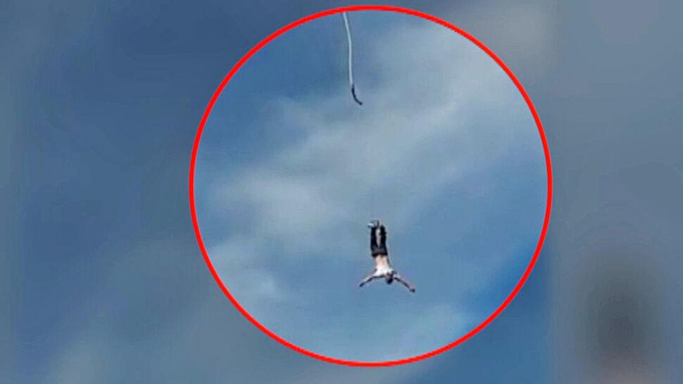Skoczył na bungee, odpięła mu się lina. Dlaczego doszło do wypadku?