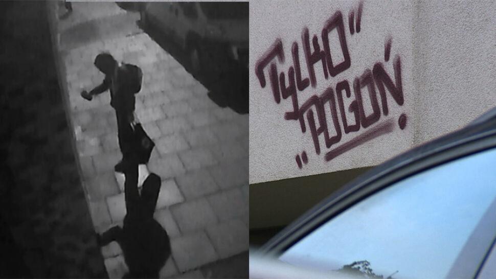 Grafficiarze zniszczyli wyremontowaną kamienicę. Spółdzielnia publikuje nagrania