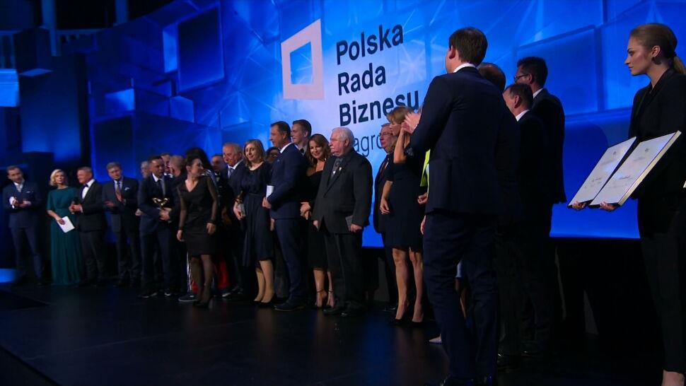 """""""Biznesowe Oscary"""" rozdane. 8. edycja Nagród Polskiej Rady Biznesu"""