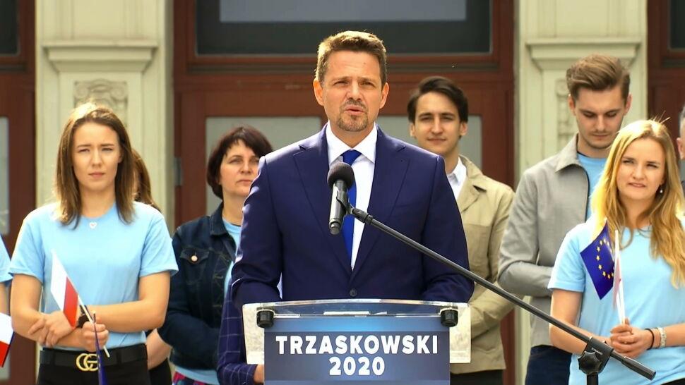 """""""Poradzimy sobie ze zbieraniem podpisów"""". Trzaskowski największym rywalem Dudy"""