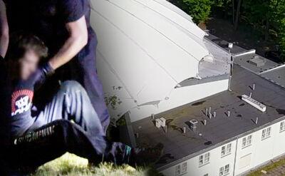 """Koncert zakończył nago na amfiteatrze. """"Oświadczył, że lubi chodzić po dachach"""""""