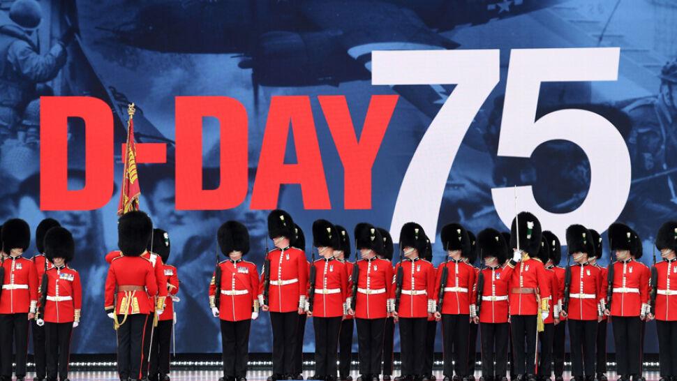 75. rocznica lądowania aliantów w Normandii. Pamięć bohaterów uczczono w Portsmouth