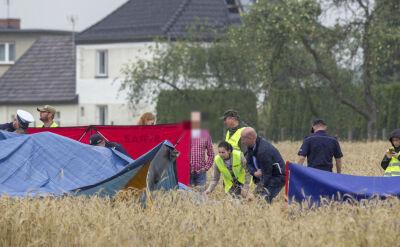 Prywatny śmigłowiec rozbił się pod Opolem. Dwie osoby nie żyją
