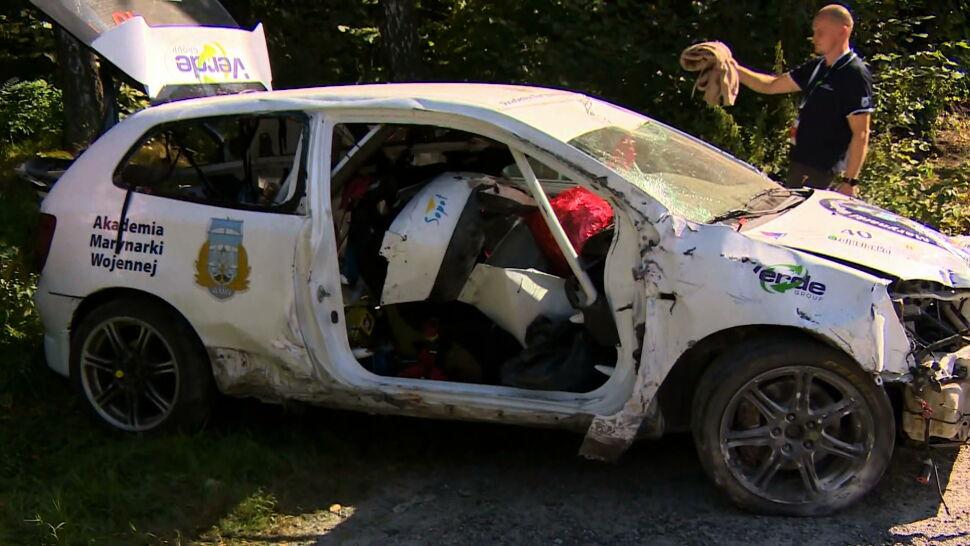Tragiczny wypadek na trasie Rajdu Śląska. Nie żyje pilotka