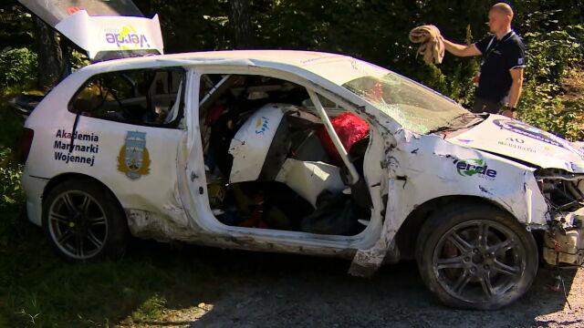 11.09.2021 | Tragiczny wypadek na trasie Rajdu Śląska. Nie żyje pilotka