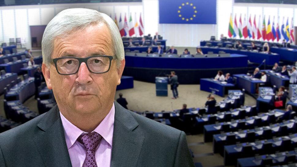 """Jean-Claude Juncker wściekły na niską frekwencję w Parlamencie Europejskim. """"Jesteście śmieszni"""""""