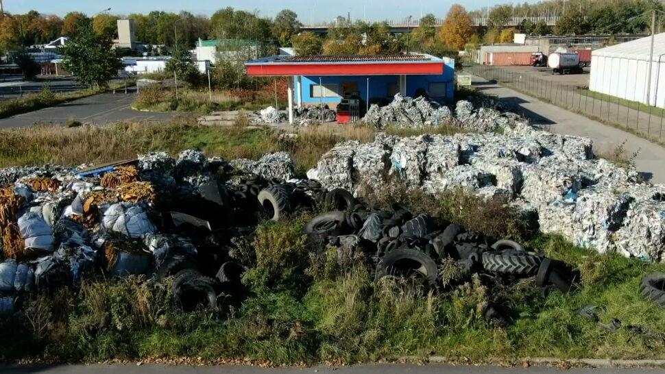 Tony włoskich śmieci w Gliwicach. Sprawę bada prokuratura
