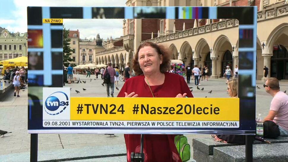 """""""Dużo zdrówka i wytrwałości"""". Widzowie TVN24 złożylinam życzenia w Krakowie"""