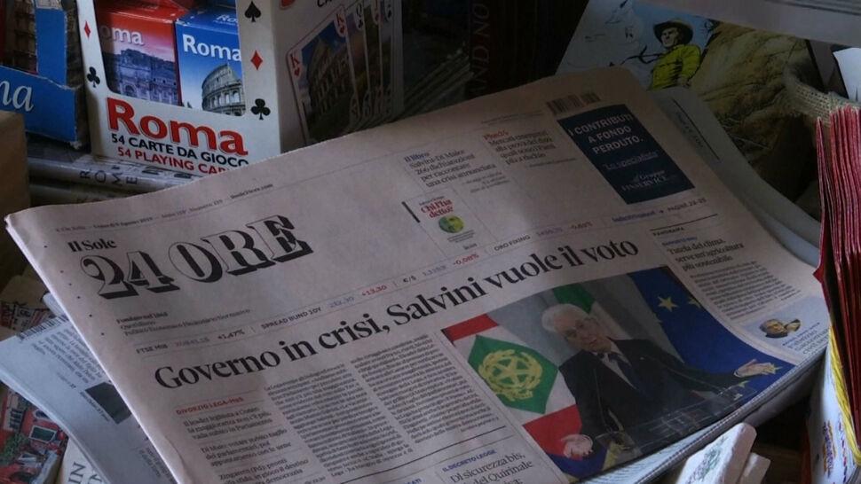 Rząd włoski rozpada się. Matteo Salvini liczy na przyspieszone wybory i pełnię władzy