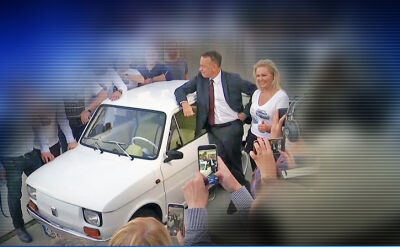Tom Hanks zachwycony maluchem z Polski