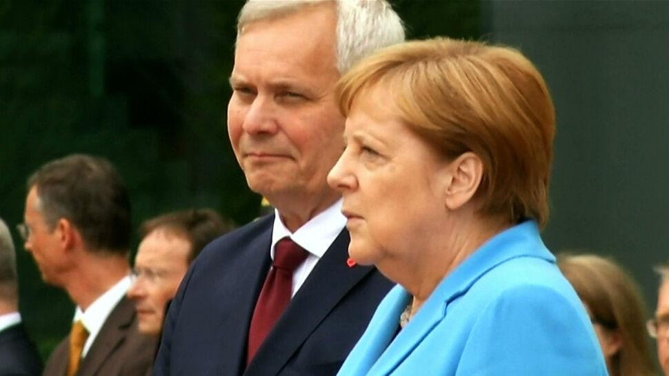 Kolejny napad drgawek Angeli Merkel. Niemcy pytają o jej stan zdrowia