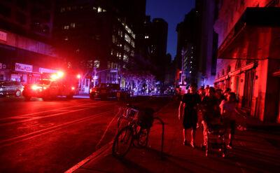 Ciemności na Manhattanie. Blackout spowodował pożar transformatora