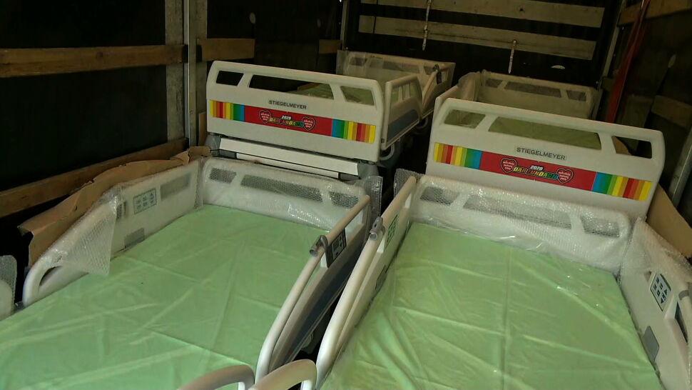 WOŚP pomaga szpitalom. Łóżka, maseczki, respiratory dla intensywnej terapii