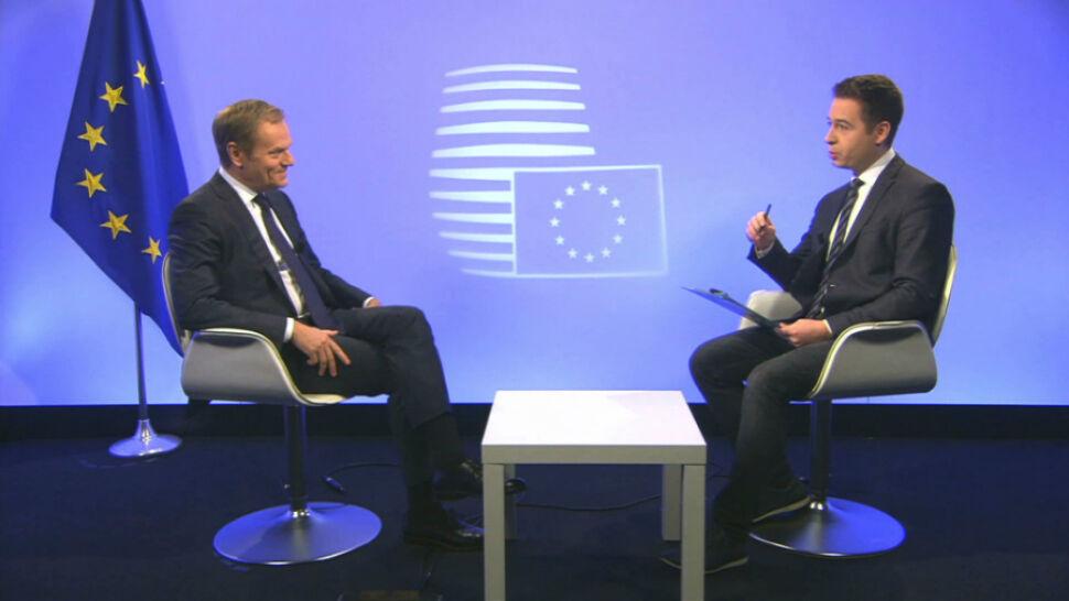 """""""W Brukseli czasem pukają się w głowę"""". Cała rozmowa z Donaldem Tuskiem"""