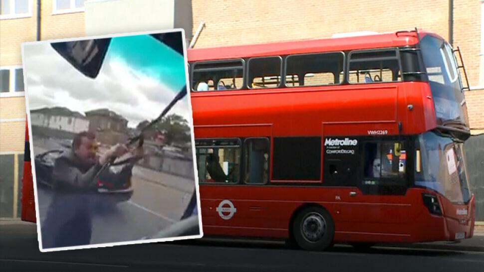 """Polski kierowca autobusu zaatakowany w Londynie. """"Każę cię deportować"""""""