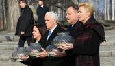 """""""Było widać, że to przeżywają"""". Duda i Pence odwiedzili Auschwitz"""