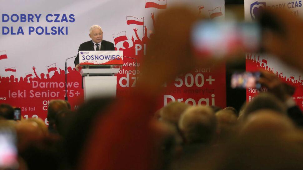 """Komentarze po wystąpieniu Kaczyńskiego. """"Pokazał prawdziwą twarz"""""""