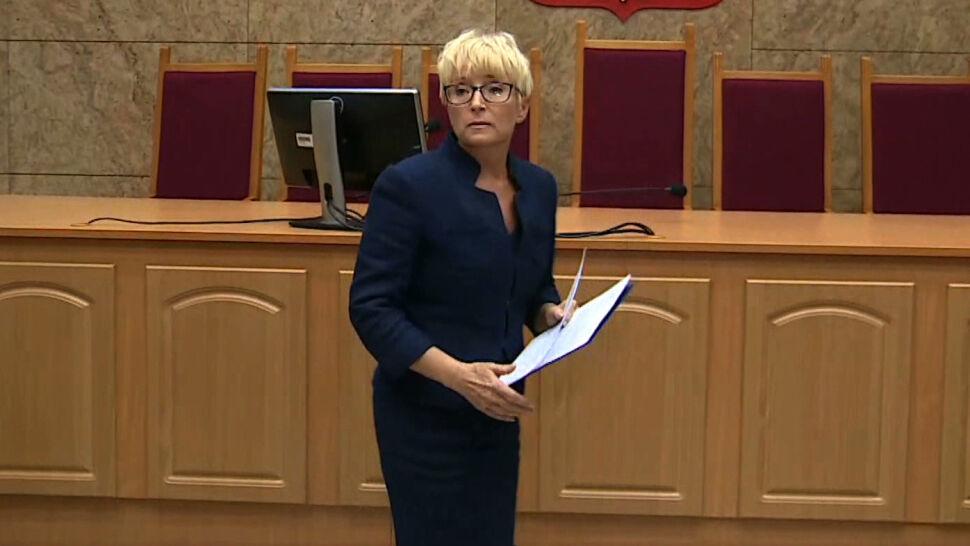 Sędzia Beata Morawiec wygrywa przed sądem