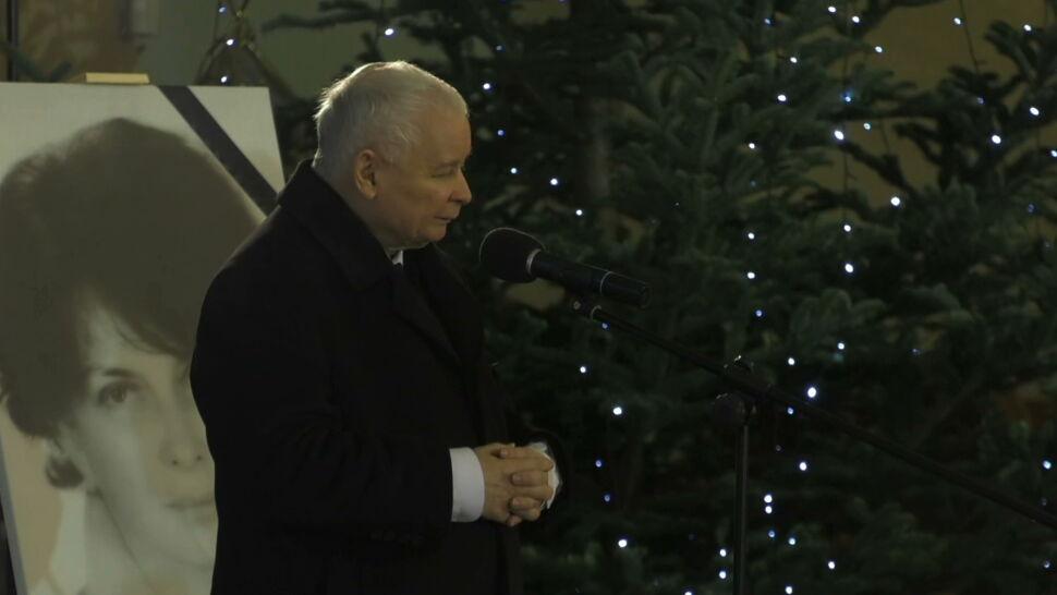 """Polityczne przemówienie Jarosława Kaczyńskiego w kościele. """"Ani partia, ani jej przywódca nie zastąpią Słowa Bożego"""""""