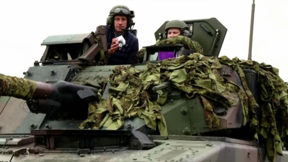 """""""Ćwiczymy, żeby być w stanie obronić nasz kraj"""". Relacja z estońskiej bazy Tapa"""