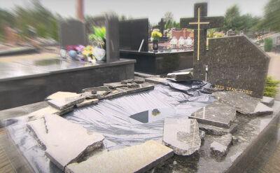 Dewastacje grobów i kradzież ludzkich szczątków. Policja szuka sprawców