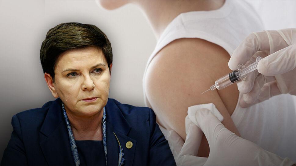 Premier: nie lekceważymy Państwa, którzy nie chcą szczepić dzieci. Marszałek Senatu mówi o lobby antyszczepionkowym