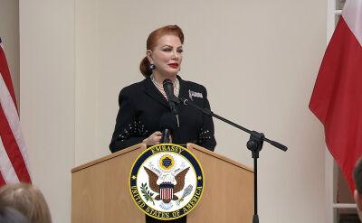 Pierwsze publiczne wystąpienie nowej ambasador USA