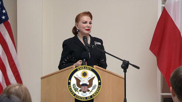 14.09.2018 | Pierwsze publiczne wystąpienie nowej ambasador USA