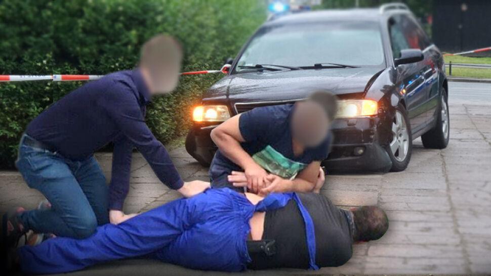 Pościg, strzały i skradziona gotówka. Spektakularna akcja na ulicach Warszawy