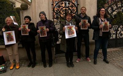 Zarzut za tęczową aureolę. Światowe media rozpisują się o sprawie z Polski