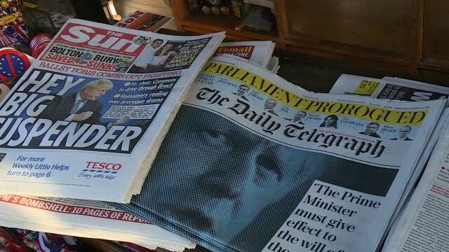 Odliczanie do brexitu. Johnson zawiesza prace parlamentu