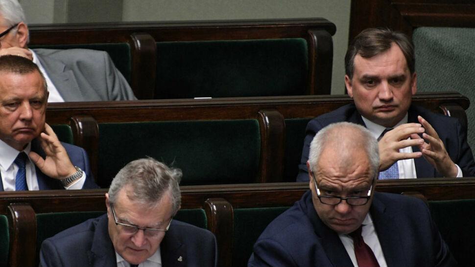 Wotum nieufności wobec Zbigniewa Ziobry. Koalicja czeka na decyzję marszałek Elżbiety Witek