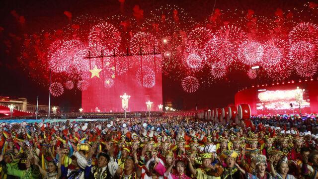 01.10.2019 | Parada i pokaz siły. Tak świętowano rocznicę utworzenia komunistycznej Chińskiej Republiki Ludowej