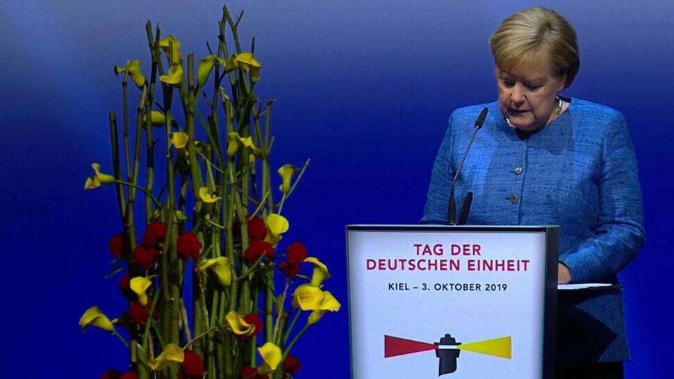 Niemcy obchodzą dzień zjednoczenia. Gorzkie słowa Angeli Merkel