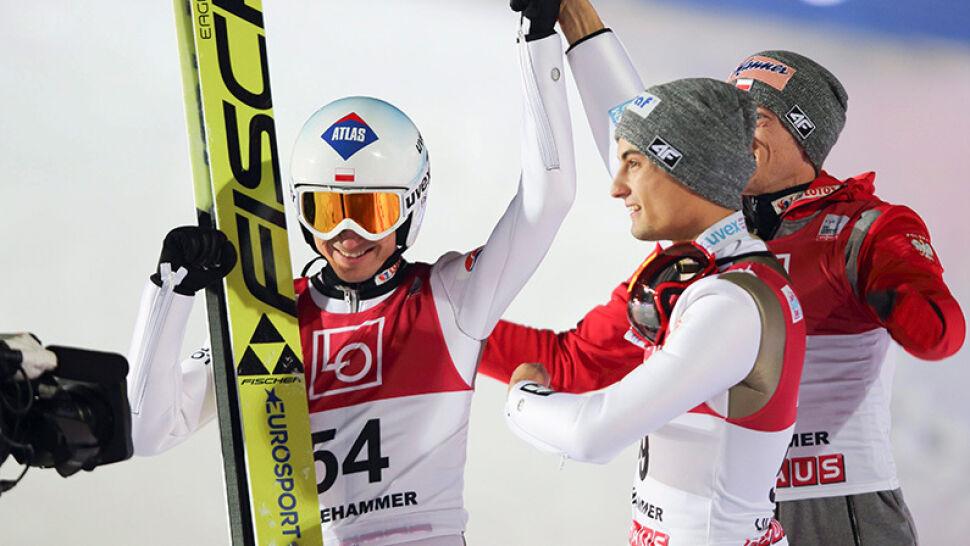 Podwójny triumf polskich skoczków. Stoch i Kot zajęli dwa pierwsze miejsca