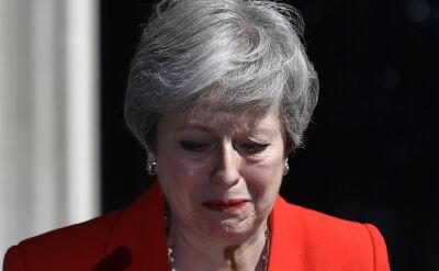 Theresa May łamiącym się głosem ogłosiła rezygnację z urzędu