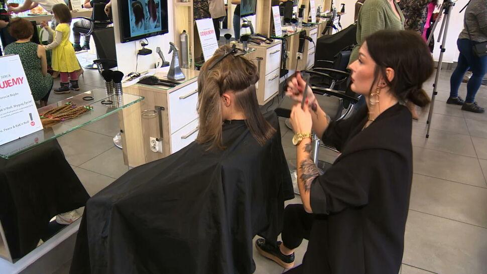 Dzień Kobiet. Ścinają włosy dla innych, robią badania dla zdrowa