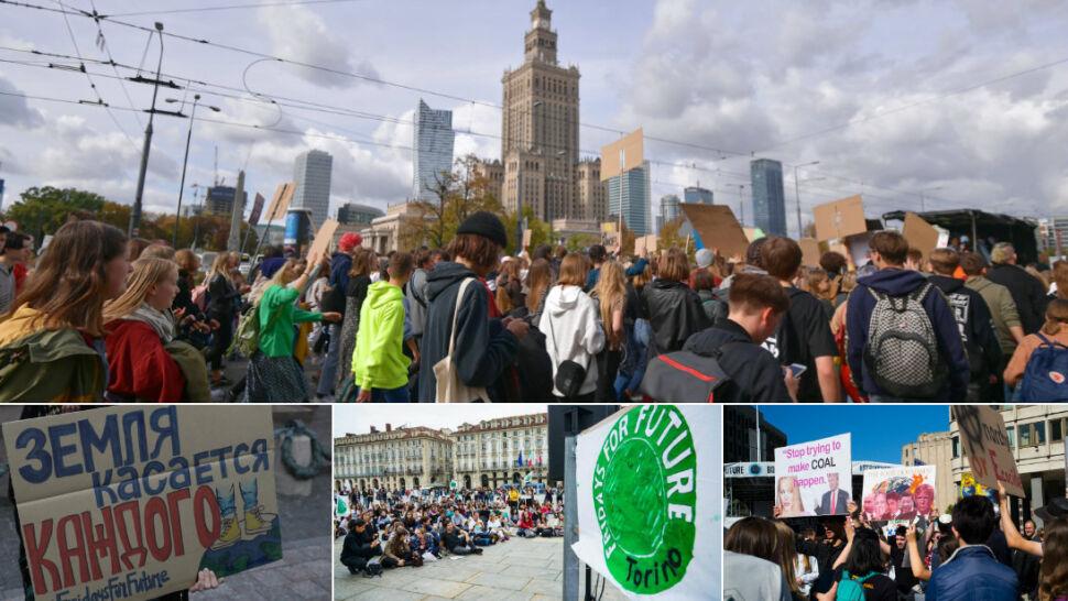 Młodzi na całym świecie wyszli na ulice. Mają dość bierności wobec zmian klimatycznych