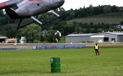 Niezwykły pokaz umiejętności pilotów helikopterów. Widowiskowe zawody na Podhalu